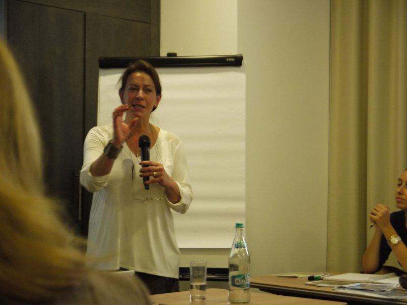 Workshop cu Deborah Houlding