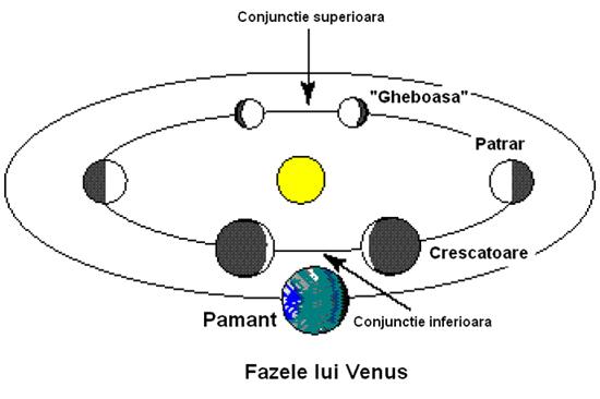 fazele lui Venus