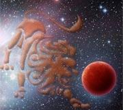 Marte in Leu (II)
