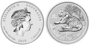 moneda tigru