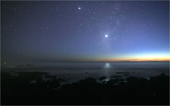 Venus in Pacific