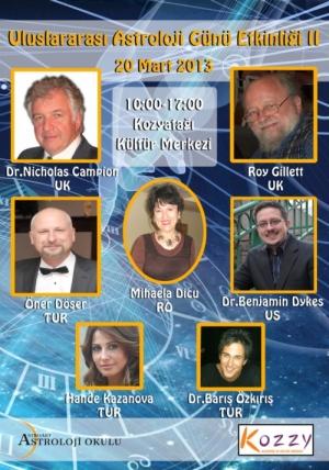 AAR la Zilele Internaţionale ale Astrologiei – Istanbul 16-20 martie 2013