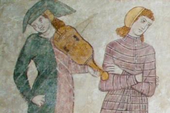 Trubaduri în Evul Mediu