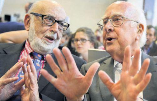 Francois Englert și Peter Higgs – câștigătorii premiului Nobel 2013 pentru fizică