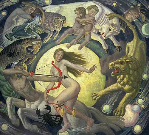 """Zodiacul"", Ernest Procter"