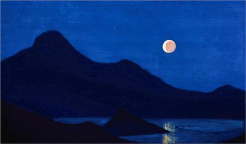 """""""Eclipsă"""" de Nicholas Roerich (1939)"""