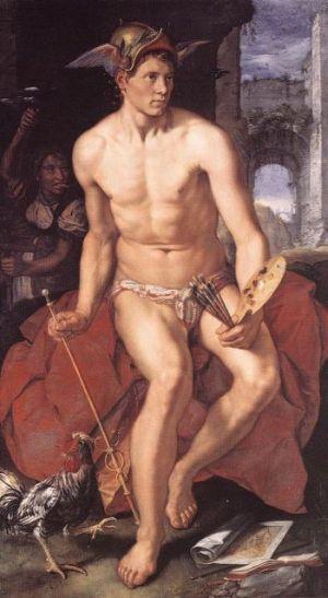 """""""Mercur"""", de Hendrik Goltzius"""