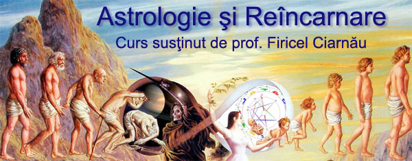24-25 martie: curs Astrologie și Reîncarnare
