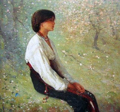 """Primăvara"", Nicolae Grigorescu"