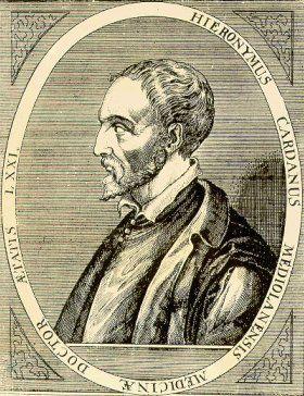 Jerôme Cardan(1501 - 1576)