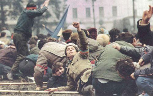 "Fotografie din ""1989 Libertate Roumanie"", de Denoel Paris"