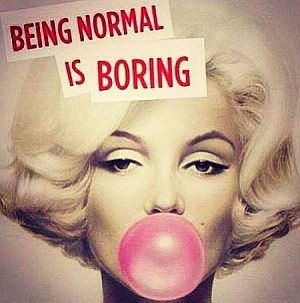 Marilyn-Monroe-being-normal-is-boring