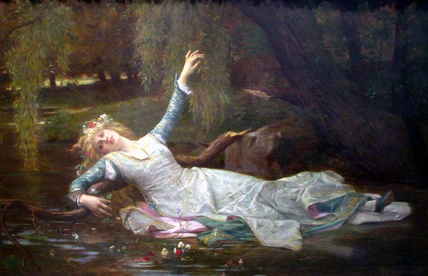 """""""Ophelia"""", Alexandre Cabanel"""