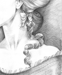 """""""Belinda. Rape of the lock"""", Anna Bowles"""
