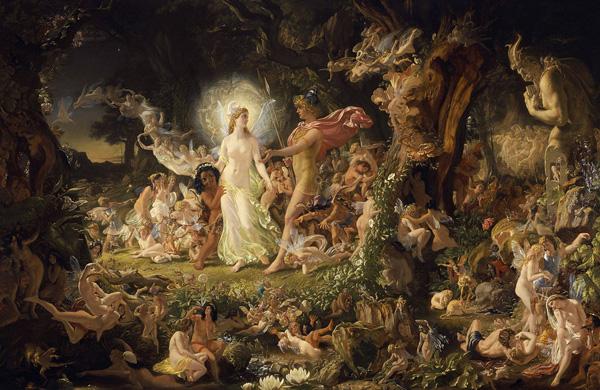 """The quarrel of Oberon and Titania"", Sir Joseph Noel Paton"