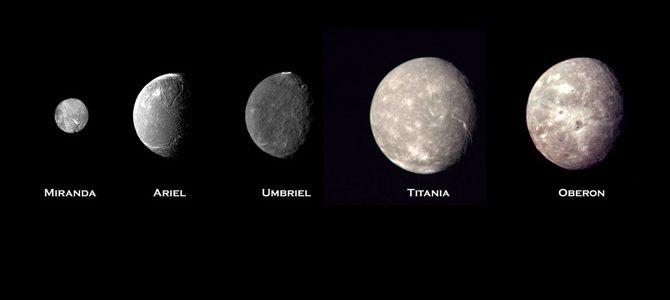 Sateliţii lui Uranus – un tărâm de basm şi poezie