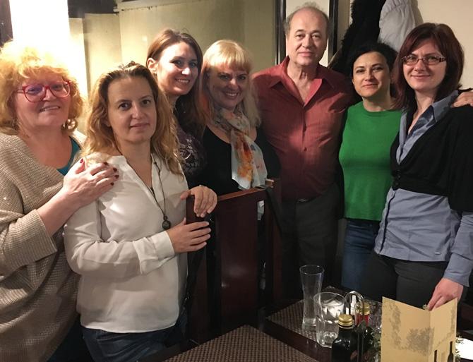 Firicel Ciarnău și trupa veselă de la Thalia