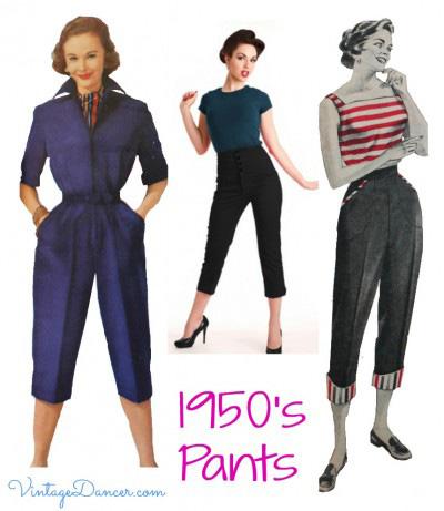 Sursă foto: http://vintagedancer.com/1950s/womens-1950s-pants-history/