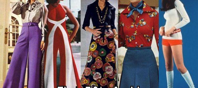 Evoluția modei feminine în anii '70