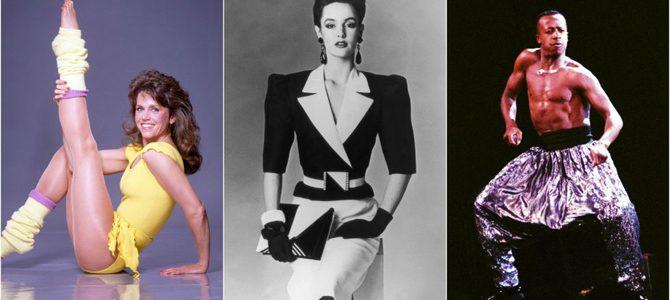 Evoluția modei feminine în anii '80