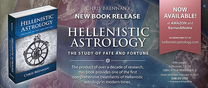 A modern introduction into Hellenistic Astrology