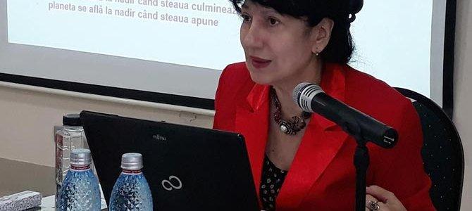 30 martie 2019: curs de astrologie natală cu Mihaela Dicu