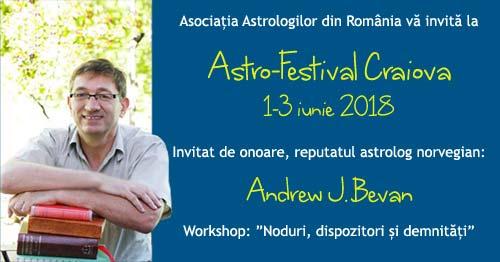 1-3 iunie: Astro-Festival Craiova 2018