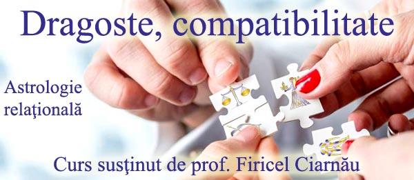 "10-11 noiembrie 2018: ""Dragoste, compatibilitate"", curs cu Firicel Ciarnău"