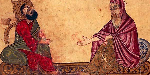 Întâmplări cu astrologi de demult, povestite de Nizami Aruzi  …și repovestite de Mihaela Dicu. Întâmplări cu Al-Kindi