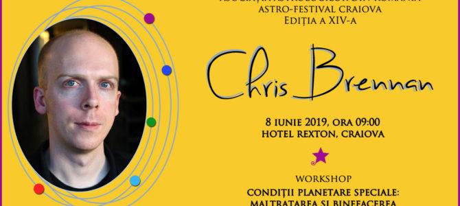 8 iunie 2019: Chris Brennan la Astro-Festival Craiova