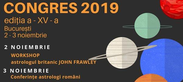 3 noiembrie 2019: Congresul AAR – conferințe