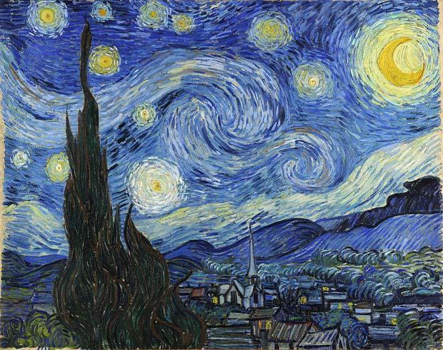 """Nașterea unei capodopere: """"Noapte înstelată"""", de Vincent Van Gogh"""