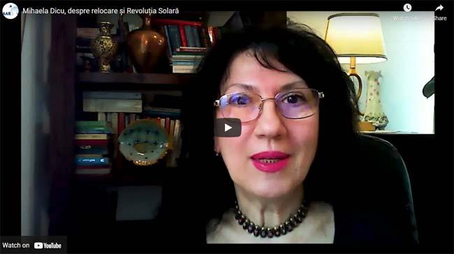 Mihaela Dicu, despre relocare și Revoluția Solară